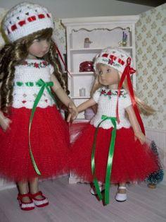 Set-for-Dianna-Effner-Little-Darling-Boneka-10-inches-doll-blouse-skirt-hat
