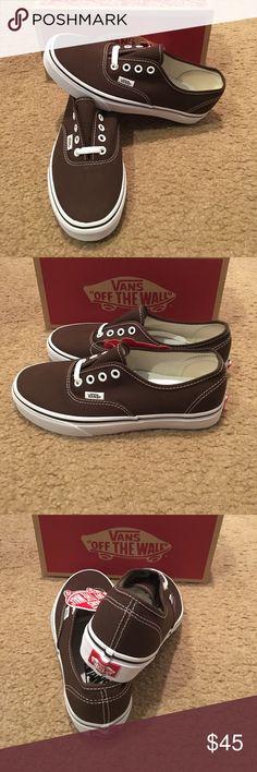 Authentic Espresso Vans New in box. Vans Shoes Sneakers