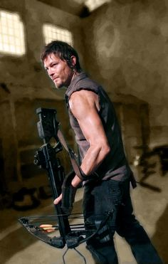 Yes we do! Norman Reedus aka Daryl Dixon on The Walking Dead. The Boondock Saints, Daryl Dixon, Norman Reedus, Andrew Lincoln, Xmen, Le Male, Little Bit, Stuff And Thangs, Fear The Walking Dead