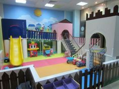 My kids would love this playroom!