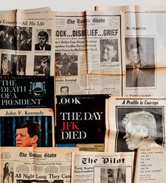 On the Day President John F. Kennedy Died