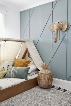 Three Birds Renovations House 11 Three Birds Renovations House House House 11 - Colour Me Hamptons Renovation, Kids Room, Kids Beds, Feature Three Birds Renovations, House Renovations, Built In Bed, Kids Room Design, Kid Spaces, Small Spaces, Small Rooms, Small Apartments, Kid Beds