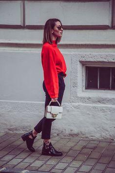 ef786f2b 12 Best Red jumper images | Fall fashion, Fall, Fall winter
