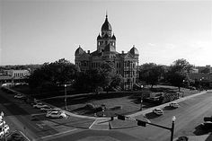 The historic Denton County Courthouse-on-the-Square