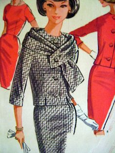 1960s Vintage Sewing Pattern 1962 McCall's 6521 by ThePatternVixen, $28.00