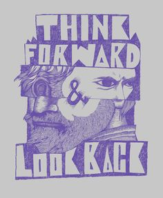 This gets you thinking...Think Forward & Look Back! by mymutas