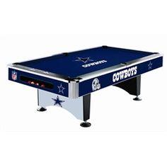 Dallas Cowboys Pool Felt Billiard Cloth