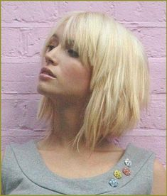 20 best Blonde Bob Frisuren mit Pony images on Pinterest | Bob ... | Frauen Haare |