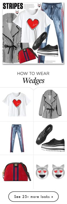 """""""Chic Street Style"""" by jecakns on Polyvore featuring Gucci"""