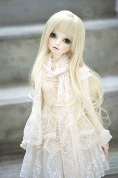 piece by piece by Crikishyuya_瑟瑟 bjd Anime Dolls, Bjd Dolls, Barbie Dolls, Pretty Dolls, Beautiful Dolls, Polymer Clay Dolls, Little Doll, Custom Dolls, Ball Jointed Dolls