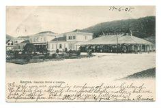 Cartão postal tipográfico: Guarujá Hotel e Cassino - Santos.