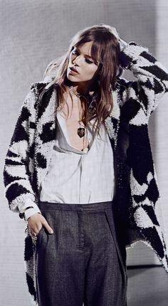 Freja Beha Erichsen Stars in By Malene Birger Fall 2014 Campaign