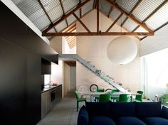The Shed Project, a warehouse conversion of a small 1890 industrial building in Australia.