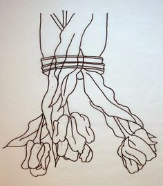 These Things: Drawing Upside Down