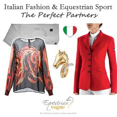 We have a soft spot for the ever stylish Italians & an equestrian influence can be seen in many of designs by the country's top design labels...