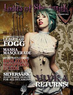Ladies Of Steampunk Magazine