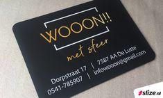 Bedrukte magneetplaten met logo voor op de auto ✨ Een vorm van semi permanente reclame. Super handig en in een mum ook weer te verwijderen. Voor woonwinkel Wooon!! met sfeer in De Lutte realiseerde Slize een tweetal bedrukte magneetplaten voor op de auto voorzien van het logo in full-colour en de NAW gegevens. ✨ #Oldenzaal #DeLutte #Woon #Decoratie #Metsfeer #Magneetplaat #Print #Drukwerk #Sign #Productie Personalized Items, Cover, Prints