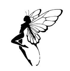 DIY Standing Fairy Vinyl Decal, Fantasy Decal, Laptop Decal, iPad Decal, Cell Phone Vinyl Decal, Stainless Steel Mug, Drinkware, Frame, by VinylMeeThis on Etsy