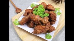 Easy delicious honey butter fried chicken