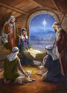 Merry Christmas Gif, Christmas Scenery, Christmas Jesus, Christmas Nativity Scene, Christmas Wishes, Christmas Pictures, Christmas Greetings, Vintage Christmas, Christmas Cards