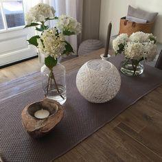 117 vind-ik-leuks, 7 reacties - ▫️Landelijk wonen (@maaike_jans) op Instagram: 'Goedemorgen!🙋🏼 De laatste mooie hortensia's uit de tuin, de rest is al verbrand!😄 #interieur…'