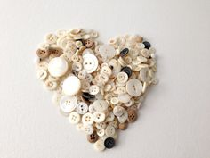 Lot of Pearl Buttons White Buttons Vintage Buttons by 2Fun4Words