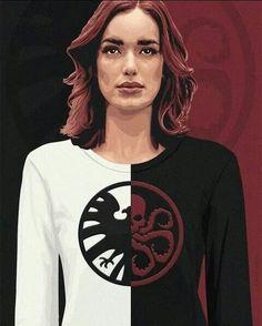 Marvel Fan Art, Marvel Dc, Marvel Women, Elizabeth Henstridge, Hail Hydra, Fitz And Simmons, Marvels Agents Of Shield, Super Soldier, Luke Mitchell