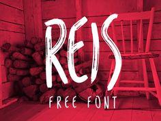 REIS / Freee font / #handwritten #brush