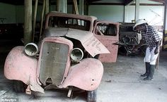 Bullet-damaged: Pablo Escobar's main passion was his car collection. After drug smuggling, that is