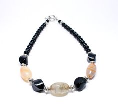 Hey, I found this really awesome Etsy listing at https://www.etsy.com/listing/195032179/onyx-agate-necklace-chunky-gemstone
