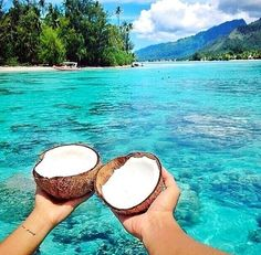 Coconut time for two?