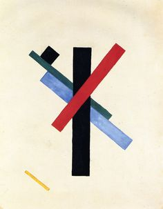 mmg62ui35gyu24:  Kazimir Malevich Suprematist Composition