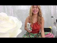 How to Make Giant Paper Orchid - มาดามเม้าท์สอนทำดอกกล้วยไม้ (ขนาดใหญ่) - YouTube