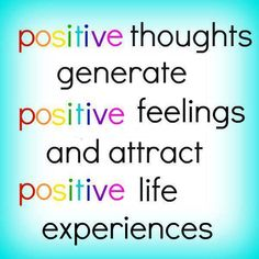 Image result for The Power of Positive Thinking and Positive Feelings