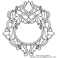 Free Wood Burning Patterns Download | Mirrors and Photo Frames Pattern Package - download