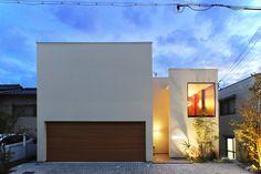 シンプル モダン 家 外観 - Google 検索 Old World, Backdrops, Brick, New Homes, Lounge, Rustic, Luxury, Interior, Outdoor Decor