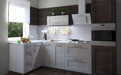 Угловая кухня «Фрейм», Leroy Merlin.