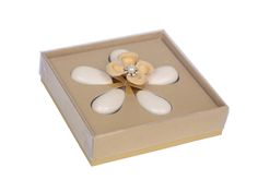 A Patchi Exclusive Design Featuring 5 Jordan Almonds Displayed Like Petals Inside The Box With