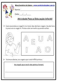 Resultado de imagem para atividades de linguagem para educação infantil