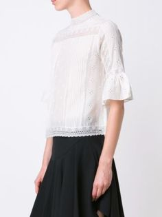 Ulla Johnson embroidered blouse