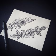 Браслетики на ножки- ручки) #камелия#ромашка#camelia #cameliatattoo#tattoo#annabravo #art #artwork #blacktattoos #black #blacktattooart #sketch