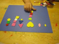 Ask the child to trace shapes of various sizes and cut them out on different colors of construction paper. Ask the child to categorize the various shapes on a piece of construction paper. This activity promotes form constancy visual perceptual skills.