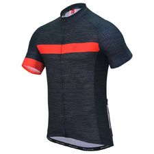IAM CYCLING - CUORE MEN CYCLING BRONZE SPORT S / SLEEVE JERSEY MAGIC GREY / RED