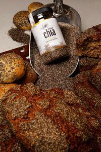 Rugbrød med Chia frø