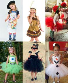 Halloween Crafts For Kids, Halloween Diy, Halloween Costumes, Birthday Girl Dress, Little Girl Birthday, Tutu Costumes, Cosplay Costumes, Female Clown, Kids Carnival