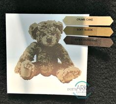Have you seen Stampin'UP!'s new realistic three step Baby Bear?? This sweet bear looks so life like and really does look good in lots of fun color combinations. Here are some color combinations that were shared at our On Stage event that may just inspire some fun stamping with Baby Bear. Happy Shopping Baby Bear …