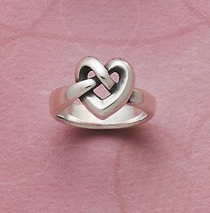 Heart Knot Ring from James Avery Jewelry #jamesavery............I want that!!!!