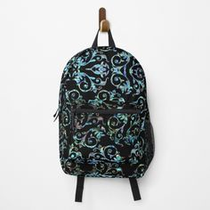 Lavender Blue, Blue Pearl, Vera Bradley Backpack, Fashion Backpack, Clutches, Backpacks, Turquoise, Art Prints, Pearls