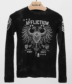 Boys - Affliction Value Thermal T-Shirt at Buckle.com