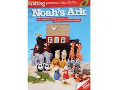Alan Dart Toy Knitting Pattern for NOAHS ARK and ANIMALS Alan Dart, Knitting Patterns, Sewing Patterns, Modern Toys, Red Shoulder Bags, Girls Bags, Paisley Pattern, Double Knitting, Retro Design